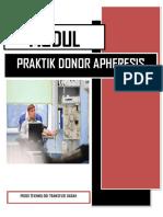 Modul Praktik Donor Apheresis