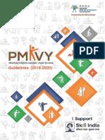 PMKVY Guidelines (2016-2020)