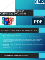 Economic Analysis of Soft Drinks
