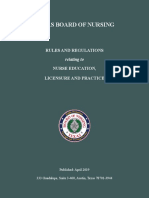 April 2019 Bon Rules and Regulations