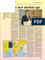 2009-01 India the New Nuclear Age by Vishvjeet Kanwarpal CEO GIS-ACG in the Energy Industry Times