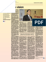 2011-12 Powering a Vision by Vishvjeet Kanwarpal CEO GIS-ACG in the Energy Industry Times