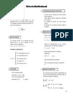 Aritmetica 4to . Divisibilidad i