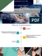 Organisation de La Profession d'Exprtise Comptable Et Du Cac