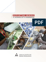 Reporting Mining - A Journalist's Handbook