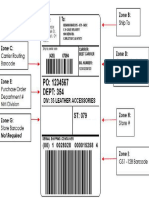SAP Shipping Label Outbound Delivery EWM