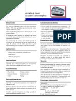 Ficha Tecnica 3m Filtro 6009 Vapores Cloro Mercurio Segutecnica
