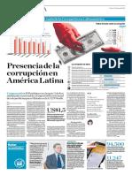 Presencia de La Corrupción en América Latina