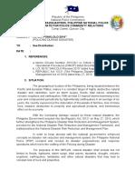 Implan SAKLOLO 2014 (Policing During Disaster)