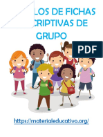 Ficha DescriptivA SECUNDARIAS