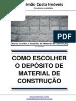 Como Escolher o Deposito de Material de Construção