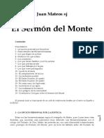 JUAN MATEOS - EL SERMÓN DEL MONTE. TRANSCRIPCIÓN DE CONFERENCIA IMPARTIDA A LA HOAC EN ESPAÑA, WWWW, SF.pdf