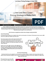 Linear and Non-Linear Pricing Strategy In Hotel PMS check out in this Presentation