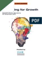 Innovating for Growth Event Pack ESADEFORUM, Barcelona