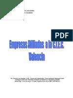 Directorio Empresas Afiliadas Camara de Comercio Valencia