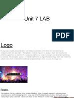 unit 7 lab
