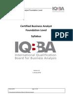 Syllabus for iQBA