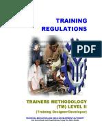TR Trainers Methodology