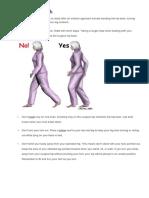 Hip Precautions - Anterior Posterior Approach