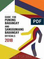 Guide for Punong Barangay 2018