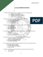 3.Bus Economics CS Foundation MCQs