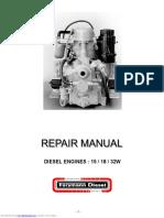 Farymann 15W 18W 32 W workshop manual