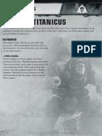 Hojas de datos Titanes en Apocalypse