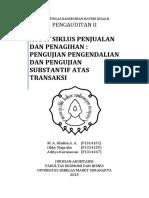 289639760 Audit Siklus Penjualan Dan Pengumpulan Kas
