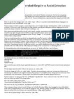 Customizing Powershell Empire to Avoid Detection.pdf