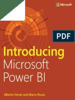 Microsoft Press eBook Introducing Power BI PDF Mobile