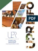 Upr Info 2018 Annual Report