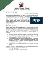 Resolucion Jurado Nacional de Elecciones