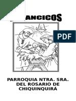 FOLLETO  VILLANCICOS