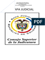Mapa Judicial Santander. Jonathan