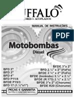 Manual Motobomba