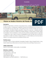 Analisis Historico Del Mundo Actual Jun17