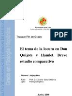 Comparativo La Locura en Hamlet - Quijote