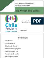 PPT Chile Previene en La Escuela - Claudio Herrera
