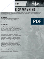 Hojas de Datos Marines Espaciales FORG WORLD Apocalypse