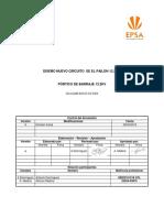 CO-CJAM-XX-X-XX-D0X Memoria Diseño Pórtico de Barraje  13.2kV.docx