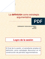 N01I-9A-La Definición Como Estrategia Argumentativa (Ppt) 2018-2 (2)