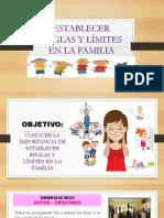 Establecer Reglas y Límites en La Familia