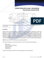 Vehicle Detection Loops s