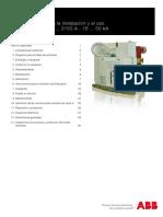 ABB VD4 Catalog Instalación