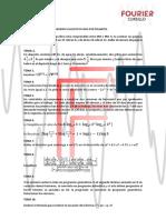 Examen para postulantes Cursillo Fourier