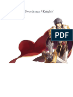 Swords Man Guide