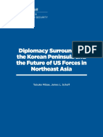 Diplomacy Surrounding the Korean Peninsula