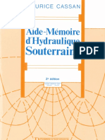 Aide Mémoire Hydraulique Souterraine