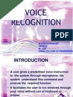 AI - voice recognition