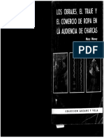 Money, M._ Los obrajes, el traje y el comercio de ropa en la Audiencia de Charcas_1983.pdf